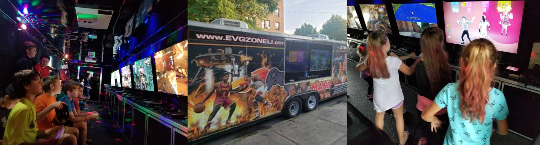 Long Island and New York City video game truck number two