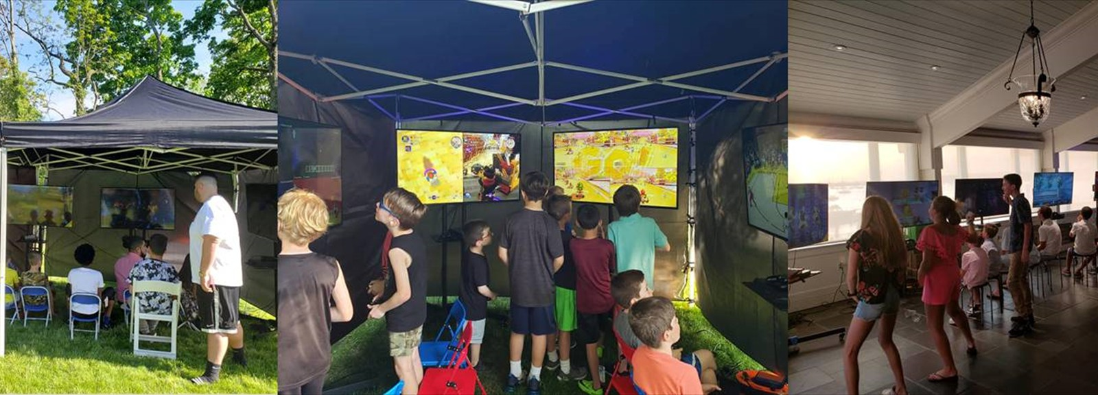 Indoor or Outdoor Mobile Game Rooms