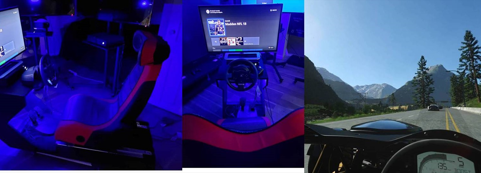 Virtual Reality Racing!